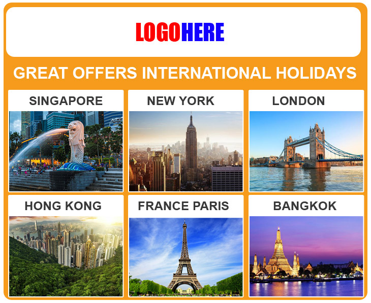 Best Holiday Packages Mailer