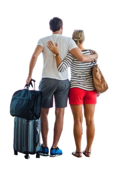 Travel Family Transparent Png Travel Image Couple Traveling Png Image