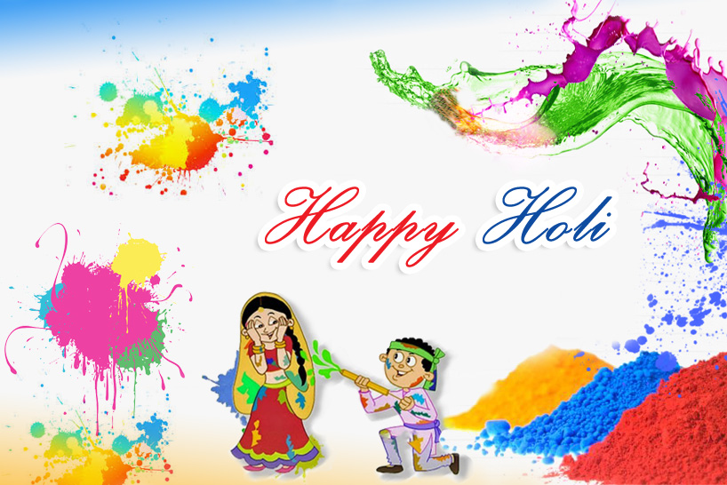 Happy Holi HD Wallpaper for PC